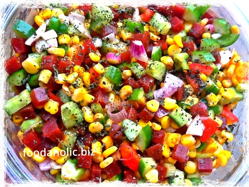 Spicy Corn Salsa