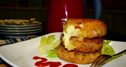 Potato Cheese Patties, Cooking with Kids