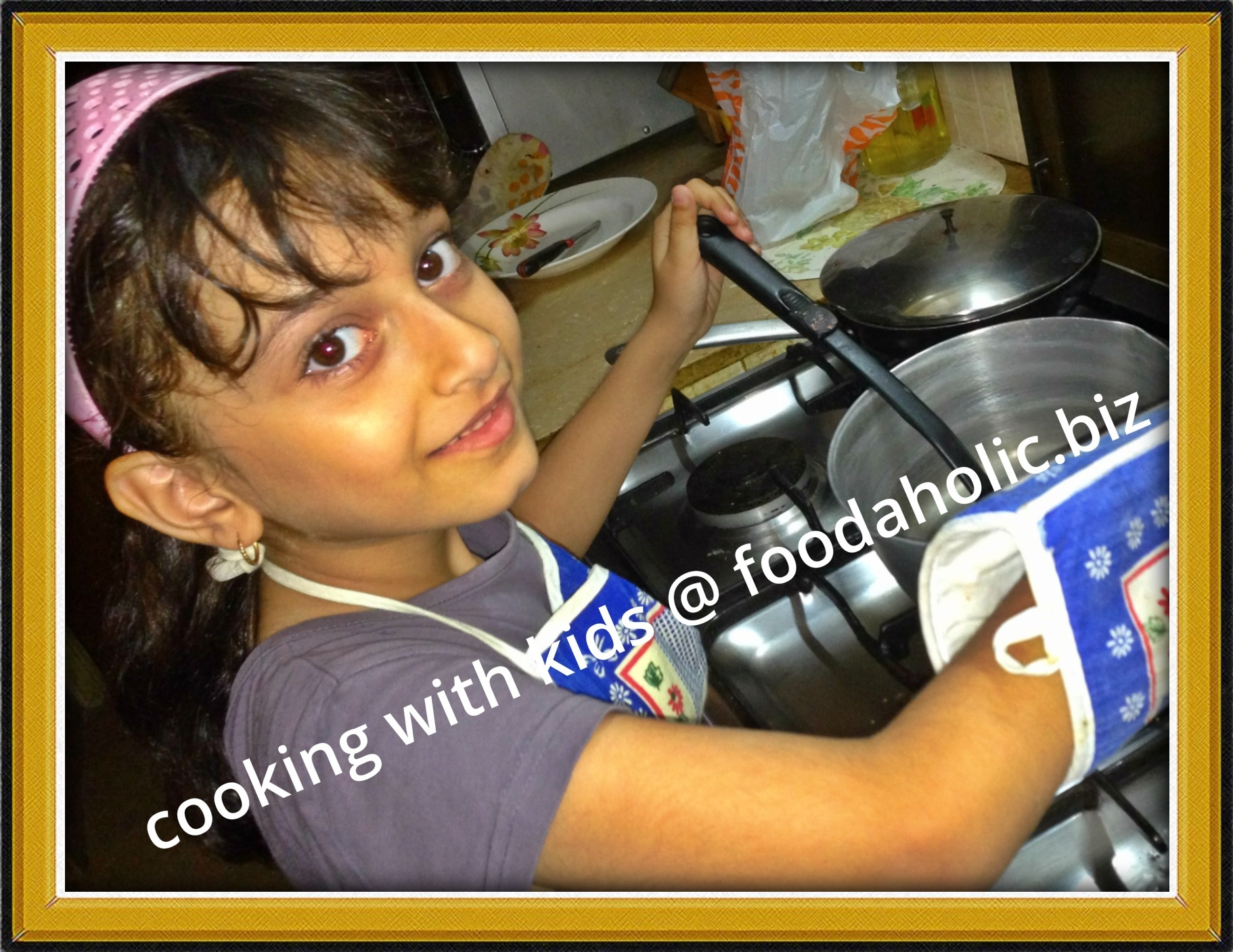 Cooking with Kids: Introduction and Safety Measures