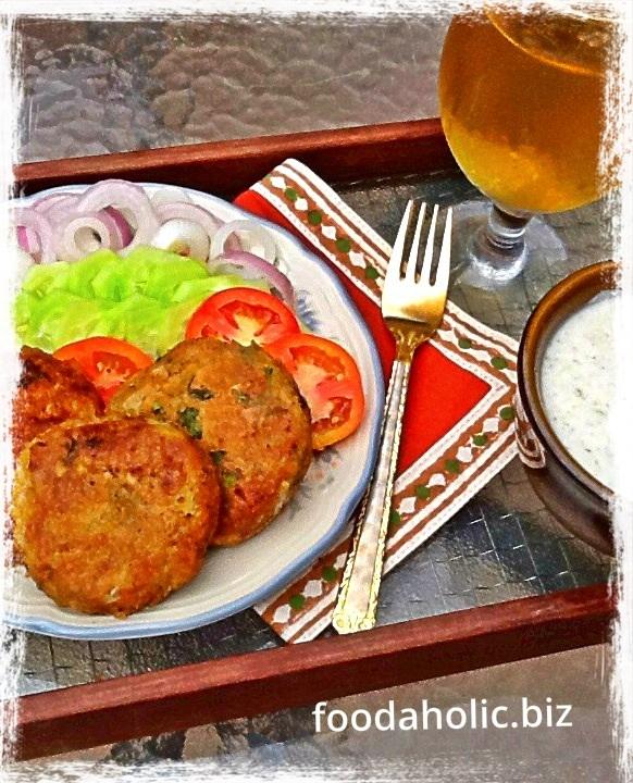 Shami Kebab, Chicken Lentils Patties
