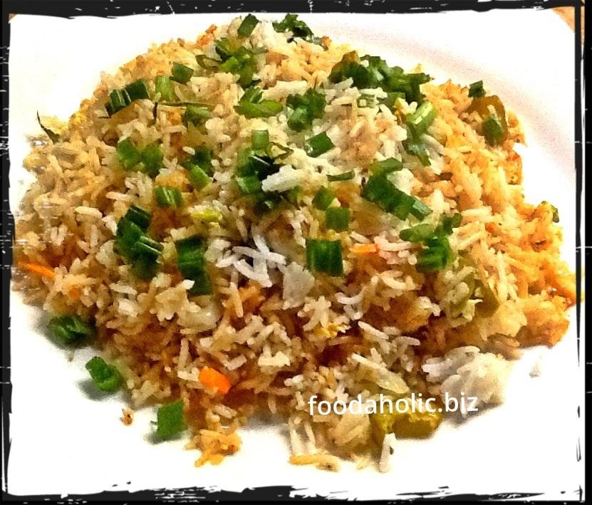 Vegetable Egg Fried Rice