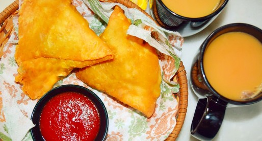 Flaky Crust Samosas, South Asian Cuisine