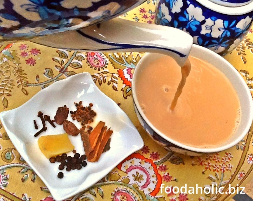 Masala Chai Recipe, Spiced Tea