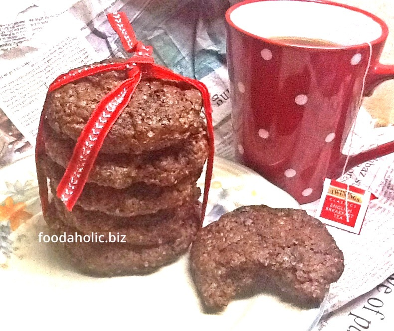 Double Chocolate Eggless Cookies – Cooking with Kids