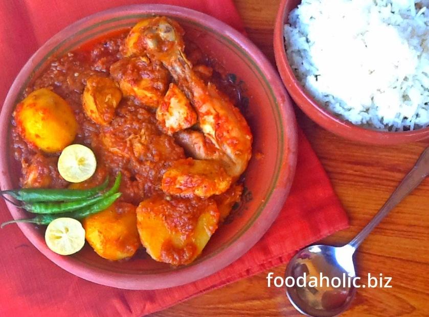 Chicken Vindaloo with Potatoes