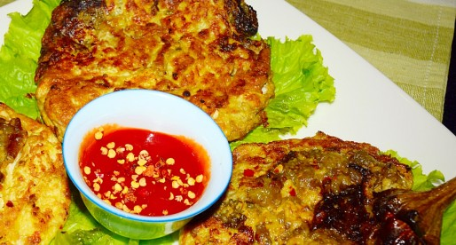Spicy Eggplant Omelette, Tortang Talong, Glutenfree