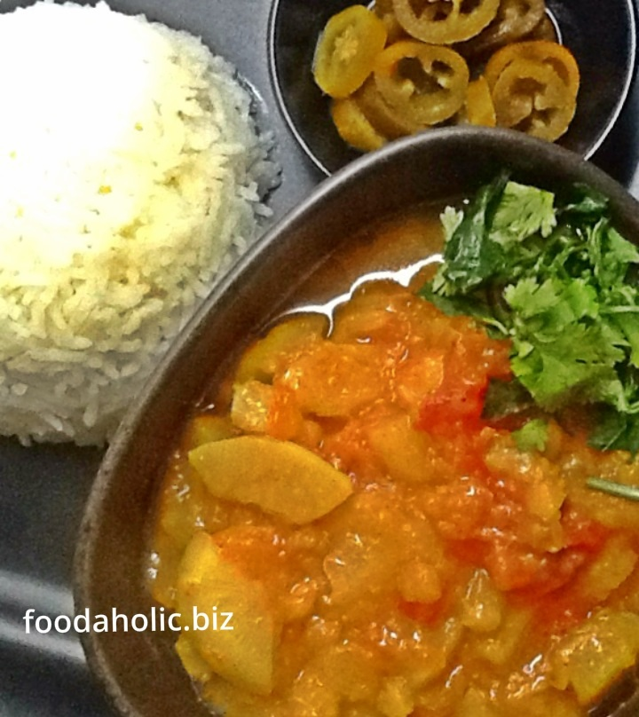 Shaljam ki Sabzi, Turnips in Tomato Masala