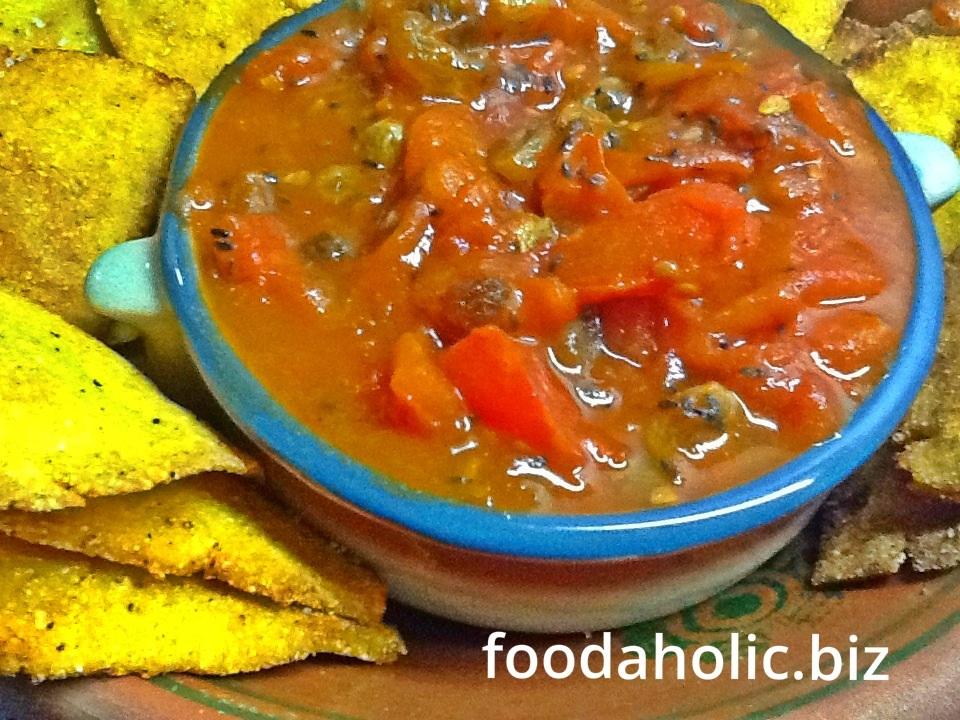 Tomato Raisin Chutney