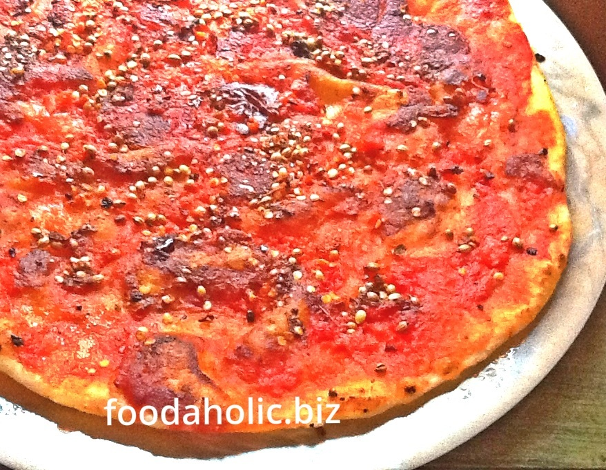Homemade Katlama – Poor Man's Pizza