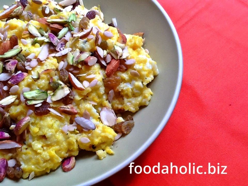 Anday Ka Halwa,  Sweet Scrambled Eggs