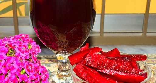 Kanji, Black Carrots Fermented Drink