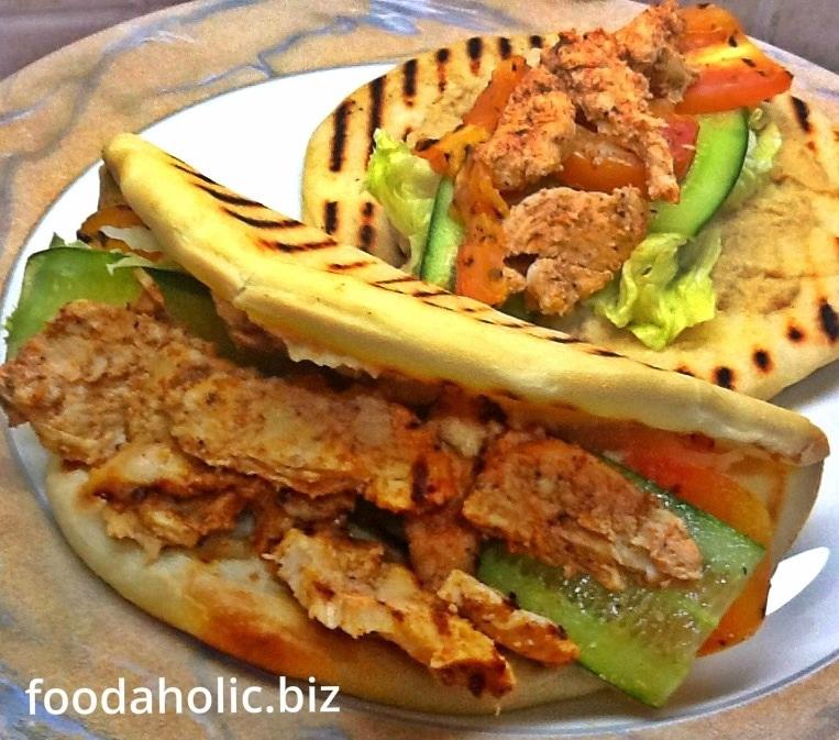 Lebanese Shawarma Sandwich