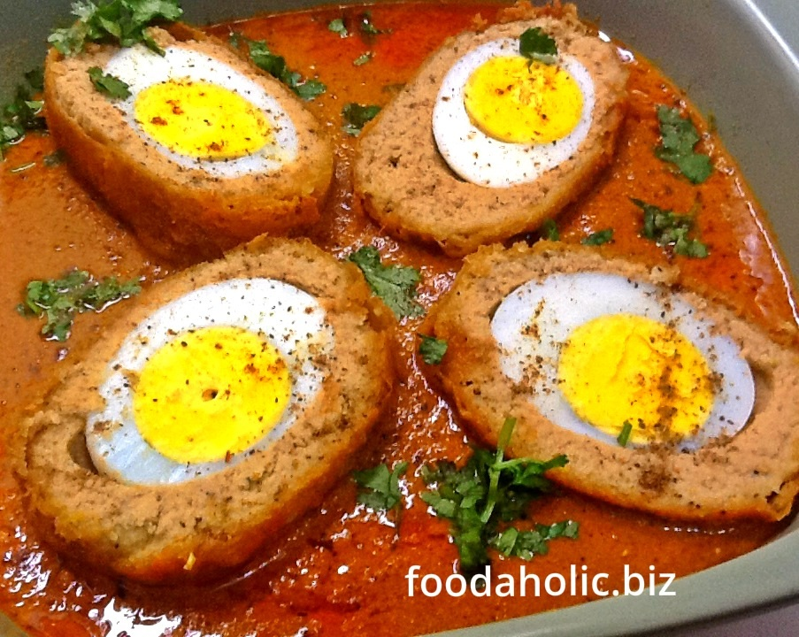 Nargisi Koftay , Narcissus Meatballs Curry
