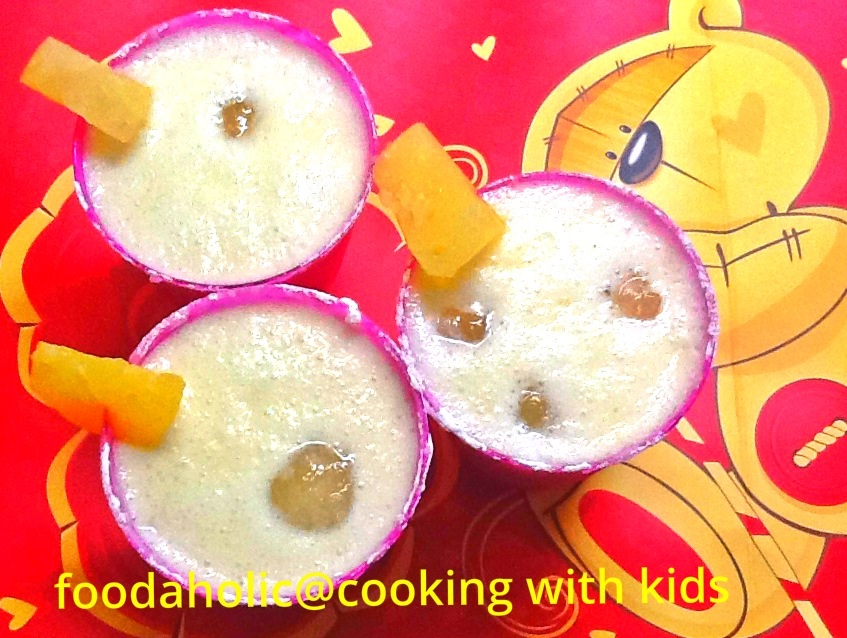 Piña colada for Kids