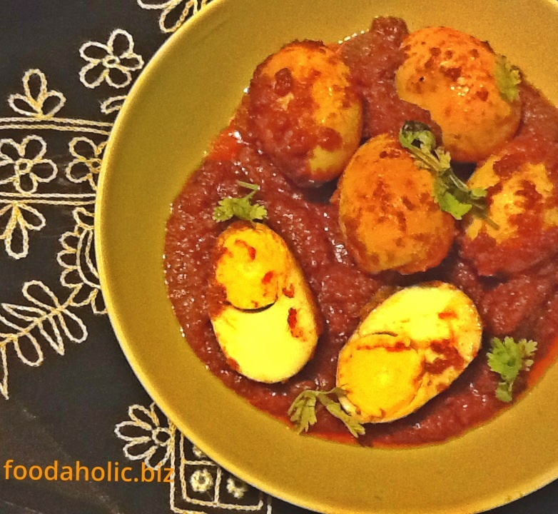 Thool Zamboor, Egg Curry