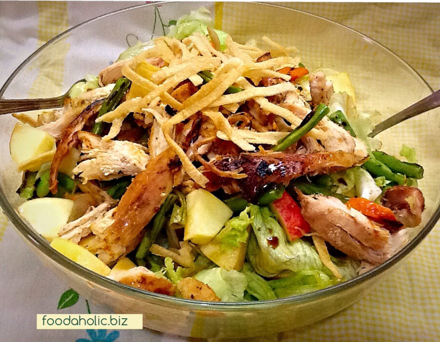 Asian Style Grilled Chicken Salad