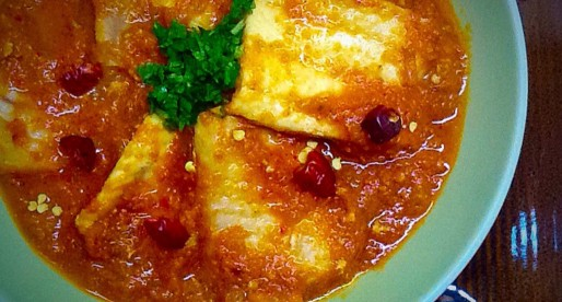 Fish In Tomato Curry