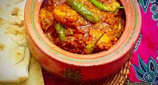 Chicken Achaari Handi