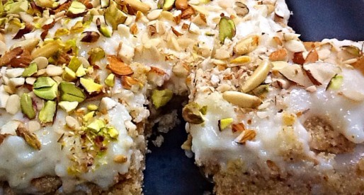 Mufroukeh, Easy Semolina Cake