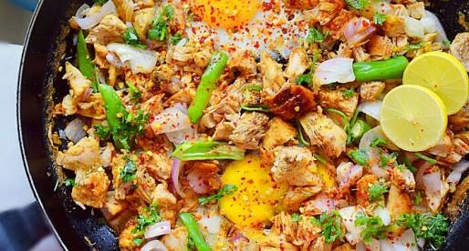 Sizzling Chicken Sisig, Filipino Recipe