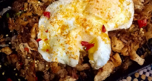 Sizzling Chicken Sisig, Filipino Recipe