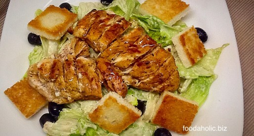Low Fat Chicken Caesar Salad Recipe