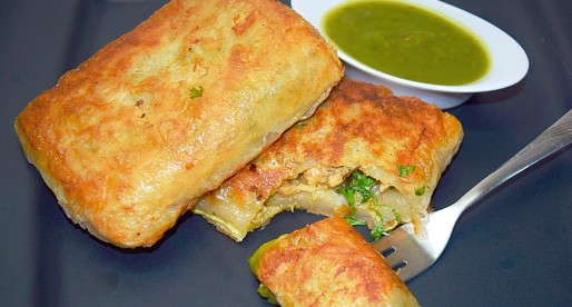 Baida Roti, Bread Parcels