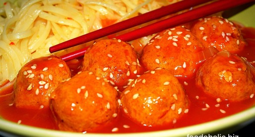 Sweet n Sour Meatballs, Asian Style