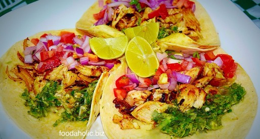 Tangy Chicken Soft Tacos