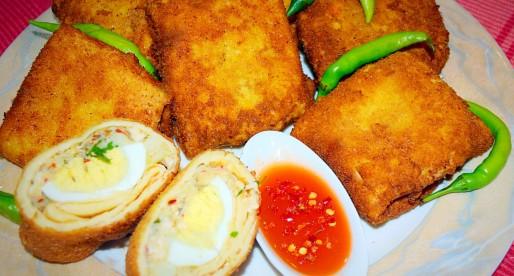 Crispy Egg Rolls, Sri Lankan Style