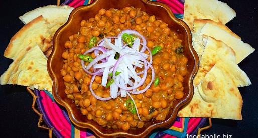 Lahori Chikar Cholay, street food