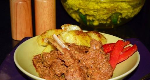 Masala Chaanp, Braised Lamb Chops