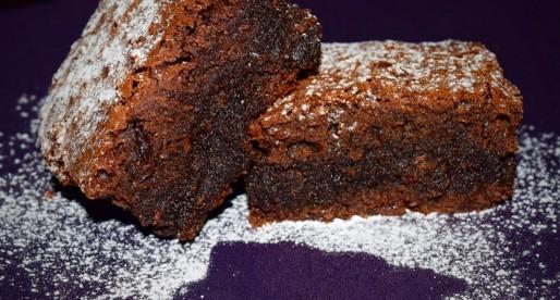 Ginger Cinnamon Brownies