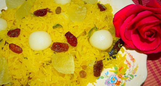 Zarda Rice, Sweet Spiced Rice