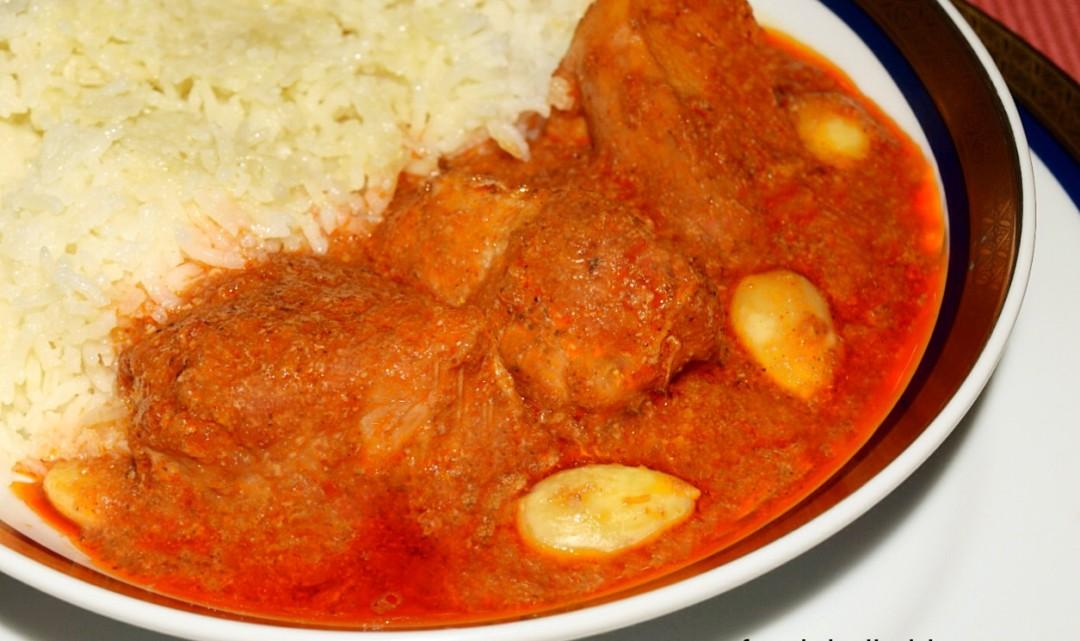 Kashmiri Chicken Curry