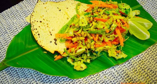 Patta Gobi ki Sabzi, Spicy Stir fried Cabbage