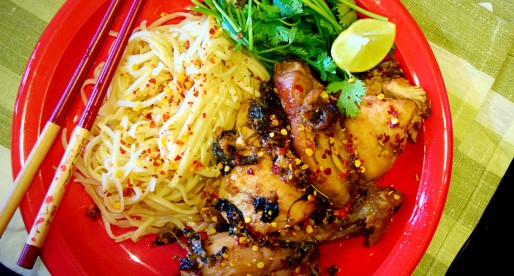 Thai Coconut Chicken Roast