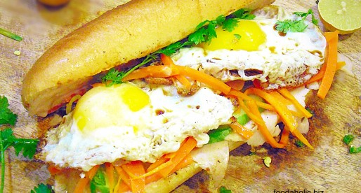 Breakfast Banh Mi, Vietnamese Sandwich Recipe