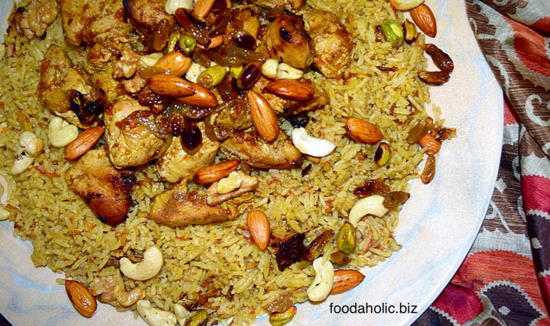 Chicken kabsa arabian rice and chicken forumfinder Image collections