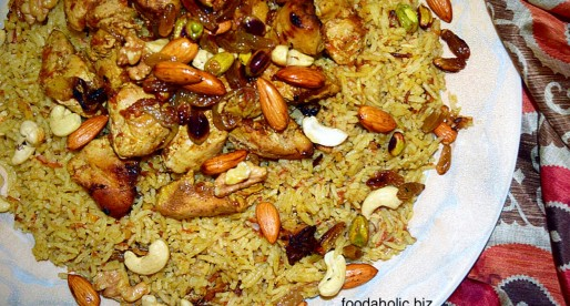 Chicken Kabsa, Arabian Rice and Chicken