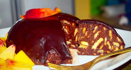 Chocolate Cold Cake, No Bake