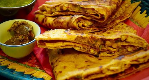 Dal Paratha, Lentils Stuffed Flatbread