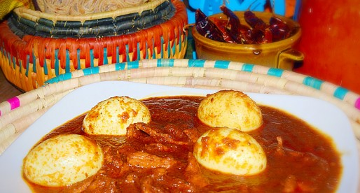 Doro Wat, Ethiopian Chicken and Egg Stew