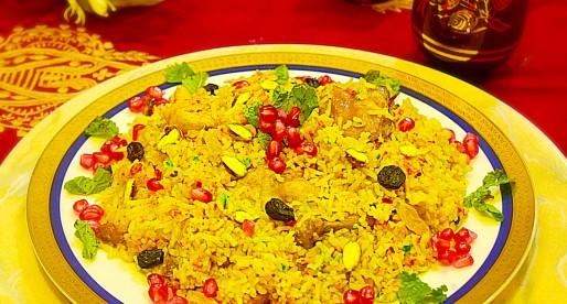 Pulao Mutanjan Recipe, Sweet and Salty Rice