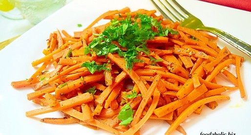 Mzoura, Cooked Carrot Salad