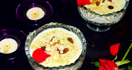 Shahi Phirni, Rich Rice Custard Recipe