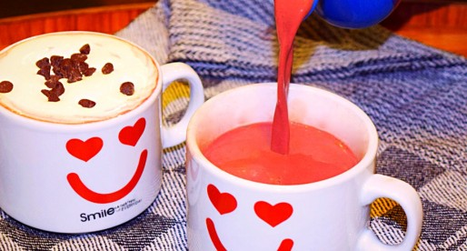 Red Velvet Hot Chocolate with Beetroot