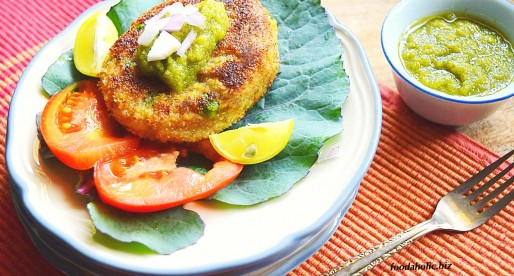 Mixed Vegetables Chickpea Cakes