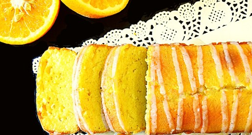 Ginger Orange Pound Cake Recipe