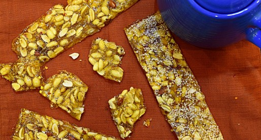 Peanut Sesame Brittle Recipe
